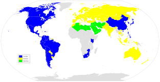 Detailed World Map Standard Time by First Day Of The Week In Different Countries Album On Imgur