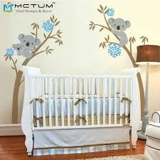 oversize koala ours mur sticker arbre pour bébé chambre de bébé