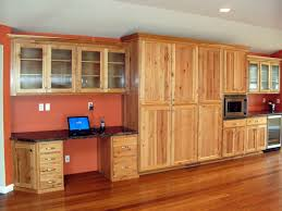 Rustic Pine Kitchen Cabinets Hickory