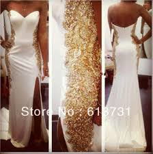 prom accessories new arrival sweetheart chiffon white mermaid prom dresses