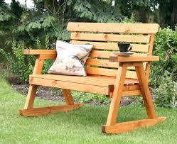 Garden Rocking Bench Rocking Garden Seat Hydraz Club