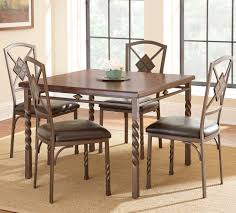 5 piece dining room sets steve silver annabella 5 piece dining room set in medium oak