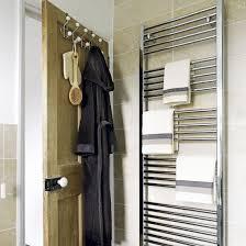 Towel Storage For Bathroom by Best 25 Bathroom Towel Rails Ideas Only On Pinterest Rustic