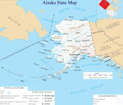 Alaska Road Map by Alaska State Map A Large Detailed Map Of Alaska State Usa