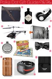polka dot christmas gift guide for him polka dot bride