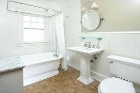 mirror over pedestal sink bathroom lighting over round mirror our