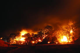 California Wildfire Rocky Fire by Burning Questions Uc Davis