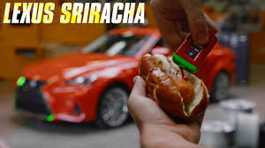 sriracha lexus price the lexus sriracha is the hottest lexus ever interior exterior