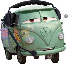 fillmore vw cars movie disney decal removable wall sticker home