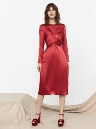 silk dresses silk tie waist dress women s dresses kitri