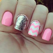 best 25 pink chevron nails ideas only on pinterest chevron