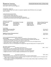 Job Resume Goals And Objectives by Finance Resume Objective Berathen Com
