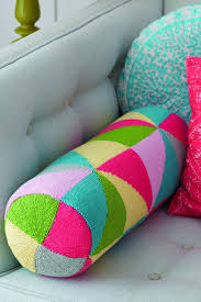 Patterns For Knitted Cushion Covers Geometric Bolster Cushion Cover Knitting Pattern U2013 The Knitting