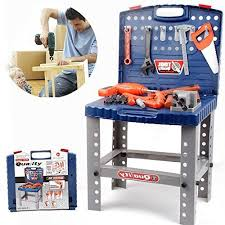 Toddler Tool Benches - toy tool workbench for kids pretend play construction workshop