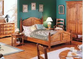 chambre en chene massif chambre rustique chêne massif a01 le luc les meubles du luc