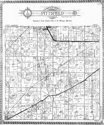 plat maps pittsfield township historical society plat maps of pittsfield