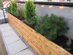 rectangular cedar wood aster patio planter box planter u0026 window