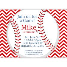 How To Design An Invitation Card Baseball Party Invitations Cloveranddot Com