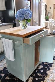 island kitchen carts rolling kitchen cart makeover confessions of a serial do it