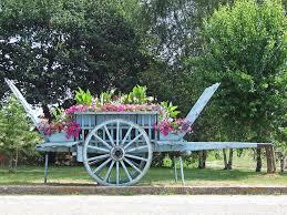 flower cart flower cart normandy photograph by joseph