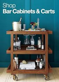 Crate And Barrel Bar Cabinet Crate And Barrel Collins Bar Cart Look 4 Less Woodworking