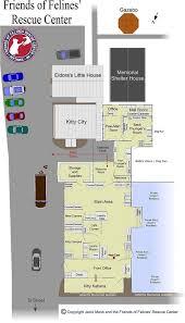 image of floor plan floor plan friends of felines rescue center