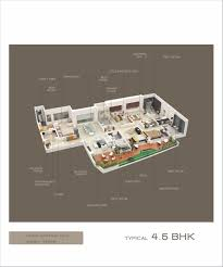 floor plan helper kundan emirus baner by kundan spaces in pune