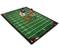 Football Field Area Rug Football Rug For After School Programs