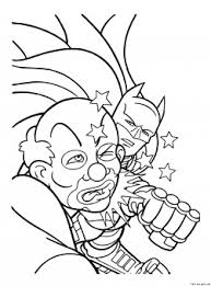 printable superheros batman joker coloring printable