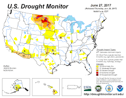 Montana Road Conditions Map by Drought June 2017 State Of The Climate National Centers For