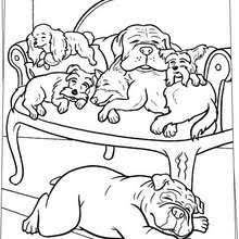 dog coloring pages online hotel for dogs coloring pages 14 movies online coloring sheets