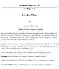 strategic life plan template 5 free word pdf documents download