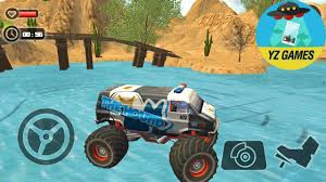 monster trucks video games off road monster truck derby new monster the hound truck android