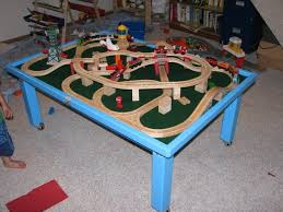 thomas the tank engine table top my son s thomas the tank engine table by mark shymanski
