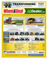 wheel u0026amp deal alberta november 7 2011 by farm business