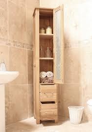Wood Bathroom Furniture Bathroom Storage Tower Cabinet Diwanfurniture