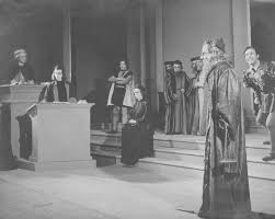 the merchant of venice at the national theatre of greece 1945
