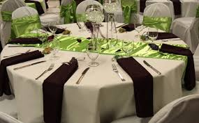 lime green table runner satin table runners