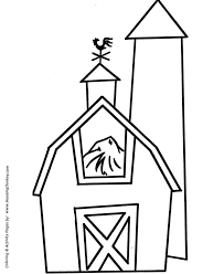 coloring pages pre k free printable barn coloring pages darach info