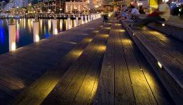 outdoor step lighting designing with safety in mind