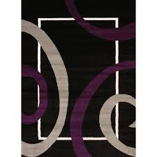 Modern Black Rugs Rugs Curtains Modern Black Plum Area Rug For Amazing Living