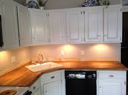 Diy Wooden Kitchen Countertops Stick A Fork In Them The Ikea Butcher Block Counters Are Done