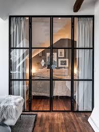separateur de chambre mur séparateur vitré 23 idées pour ouvrir fermer l espace