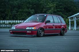 honda stance a civic shuttle that proves there u0027s more than one way to have fun