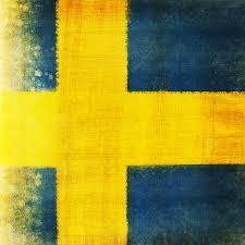 Painting A Flag Swedish Flag Painting By Setsiri Silapasuwanchai