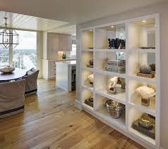 Built In Bookshelves Fireplace by A Great Way To Open Up A Small Space Turn A Dividing Wall Into An