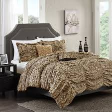 Leopard Bed Set Better Homes And Gardens Zahara 5 Bedding Comforter Set