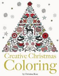 amazon creative christmas coloring classic christmas themes