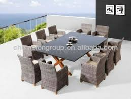 10 Seater Dining Table And Chairs 10 Seater Outdoor Dining Set Wicker Patio Dining Table Set Woven