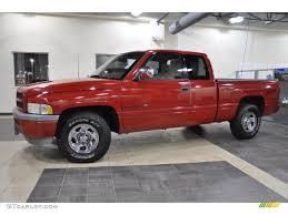 Dodge Ram 97 - 1997 flame red dodge ram 1500 sport extended cab 49244830